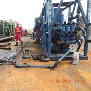 Pumping machine1